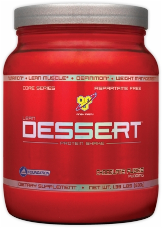 BSN Lean Dessert Protein - 1.39 Lbs. - Chocolate Fudge Pudding