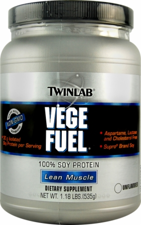Twinlab Vege Fuel - 1.18 Lbs. - Natural