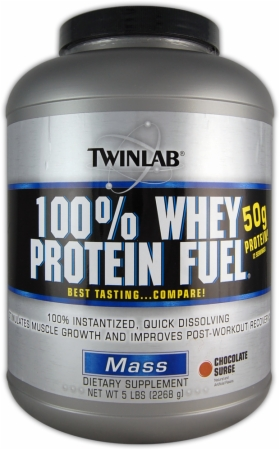 Image for Twinlab - 100% Whey Protein Fuel
