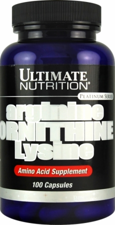 Image for Ultimate Nutrition - Arginine / Ornithine / Lysine