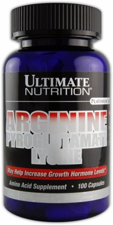 Image for Ultimate Nutrition - Arginine / Pyroglutamate/ Lysine