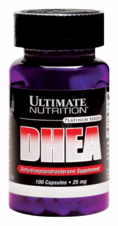 Ultimate Nutrition DHEA - 100mg/100 Capsules