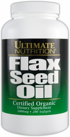 Image for Ultimate Nutrition - Flax Seed Oil