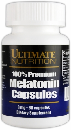 Image for Ultimate Nutrition - Melatonin 100% Premium