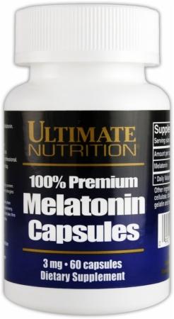 Image for Ultimate Nutrition - Melatonin 100% Premium
