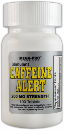 image 25333 450 white Mega Pro Caffeine Alert   100 Tablets
