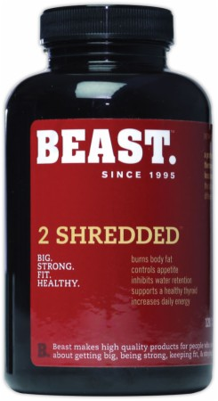 Image for Beast Sports Nutrition - 2 Shredded