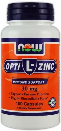 NOW Opti-L-Zinc - 100 Capsules