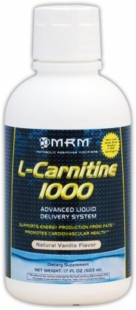 MRM L-Carnitine 1000 - 32 Fl. Oz. - Tropical Berry