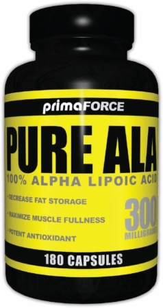 PrimaForce Pure ALA - 300mg/180 Capsules
