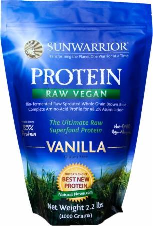 Sun Warrior Protein - 2.2 Lbs. - Vanilla