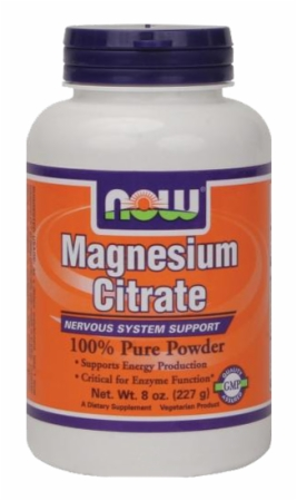 Image for NOW - Magnesium Citrate