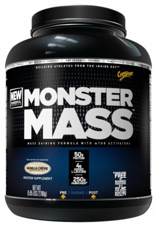 CytoSport Monster Mass - 5.95 Lbs. - Strawberries  Cream