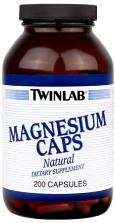 Twinlab Magnesium Caps - 400mg/200 Capsules