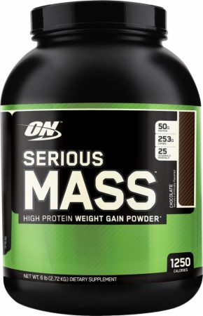 Optimum Serious Mass - 12 Lbs. - Strawberry