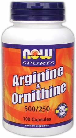 Image for NOW - Arginine Ornithine