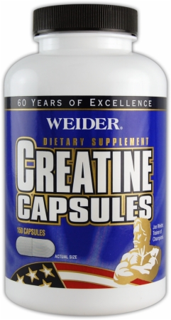 Image for Weider - Creatine Capsules