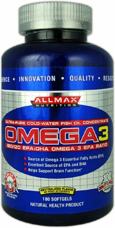 Image for AllMax Nutrition - Omega 3