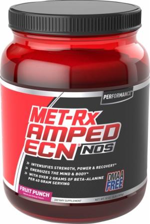 Image for Met-Rx - Amped ECN NOS