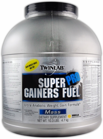 Twinlab Super Gainers Fuel Pro - 10.3 Lbs. - Chocolate