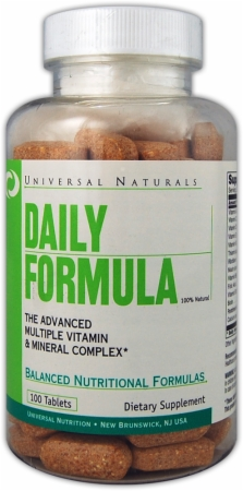Universal Daily Formula - 100 Tablets