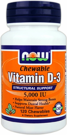 Image for NOW - Vitamin D-3