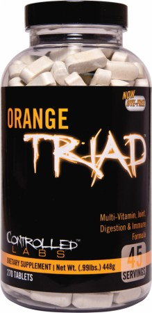 Controlled Labs Orange Triad - 270 Tablets