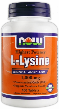 Image for NOW - L-Lysine Tabs