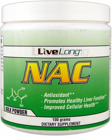 Image for LiveLong Nutrition - NAC