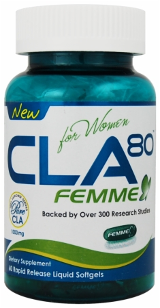 Image for AllMax Nutrition - CLA 80 Femme