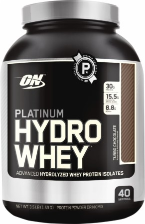 Optimum Platinum Hydrowhey - 3.5 Lbs. - Turbo Chocolate