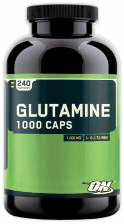 Optimum Glutamine 1000 Caps - 240 Capsules