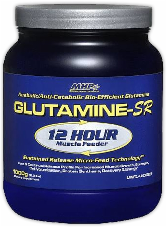 image 27016 450 white MHP Glutamine SR   300 Grams   Unflavored