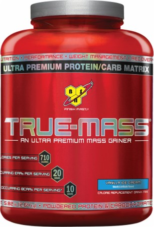 BSN True-Mass - 5.82 Lbs. - Chocolate Milkshake
