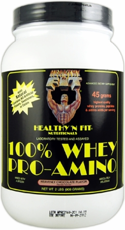 Image for Healthy 'n Fit - 100% Whey Pro-Amino