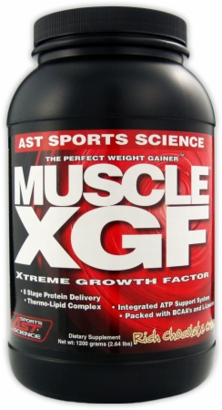 AST Muscle XGF - 2.64 Lbs. - Vanilla Ice Cream