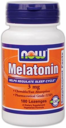 Image for NOW - Melatonin Chewables