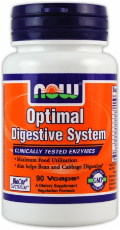NOW Optimal Digestive System - 90 Vcaps