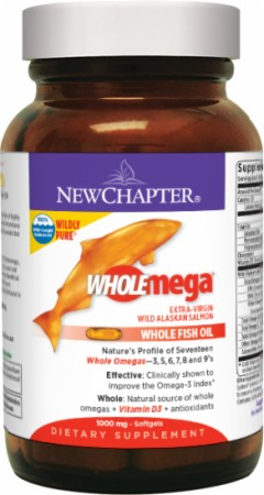 New Chapter Wholemega - 120 Softgels