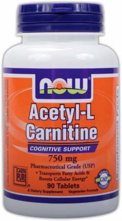 Image for NOW - Acetyl L-Carnitine Tablets