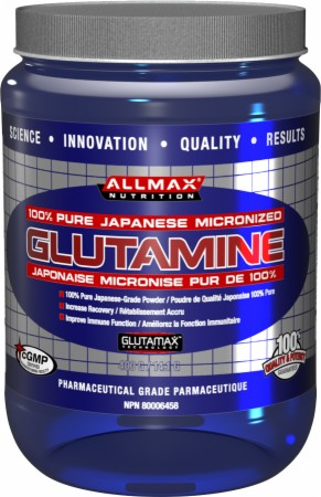 AllMax Nutrition Micronized Glutamine - 1000 Grams - Unflavored