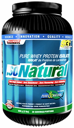 Image for AllMax Nutrition - IsoNatural