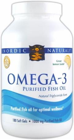 Nordic Naturals Omega-3 - 180 Softgels - Lemon