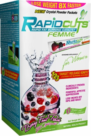 Image for AllMax Nutrition - Rapidcuts Femme Drink Packets