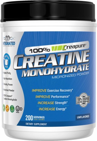 Image for Integrated Supplements - 100% Creapure Creatine Monohydrate