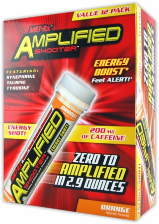 Met-Rx Amplified Shooter - 12 Pack - Fruit Punch