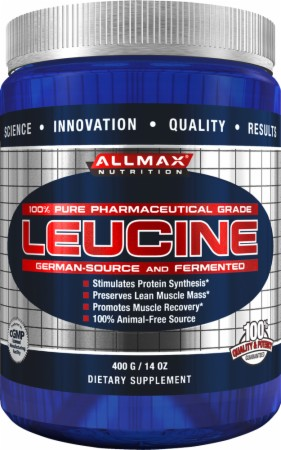 AllMax Nutrition Leucine - 400 Grams - Unflavored