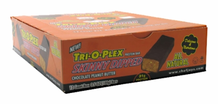 Image for Chef Jay's - Tri-O-Plex Skinny Dipped Bars