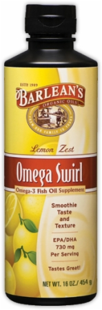 Barleans Fish  on Barlean S Omega Swirl Fish Oil At Bodybuilding Com  Lowest Prices For
