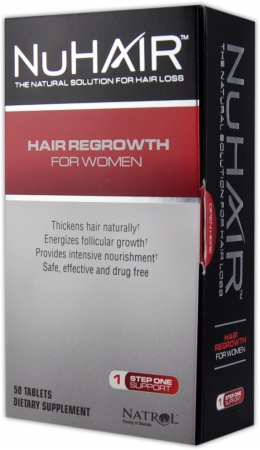 image 28558 450 white Nu Hair Hair Regrowth For Women   50 Tablets
